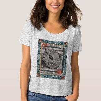 Camiseta de las mujeres del paraíso del coco