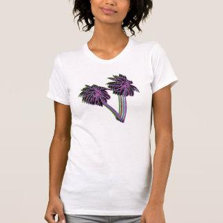 camiseta de las palmeras de los años 80