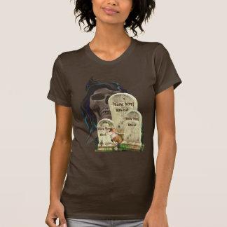 Camiseta de las piedras sepulcrales de Halloween