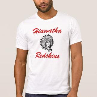 Camiseta de las pieles rojas de Hiawatha