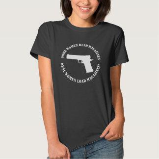 Camiseta de las revistas de la carga de las