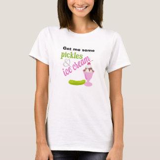 Camiseta de las salmueras y del helado, todos los