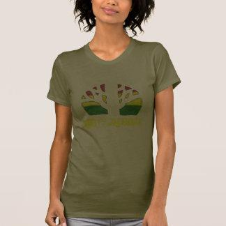 Camiseta de las señoras Brown del reggae de las