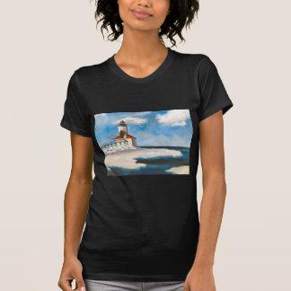 Camiseta de las señoras de la luz de la ciudad de