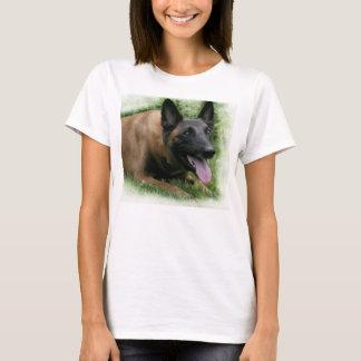 Camiseta de las señoras de Malinois del belga