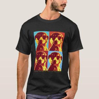Camiseta de las señoras de PopArt de la flor