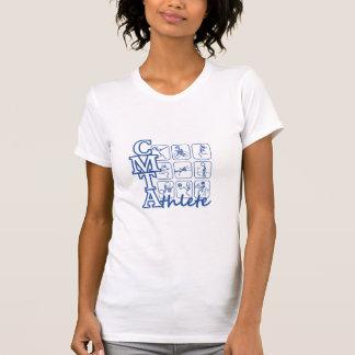 Camiseta de las señoras del atleta de CMTA