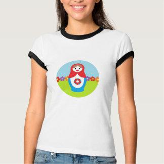 Camiseta de las señoras del carro