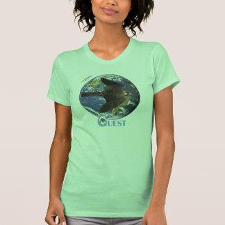 Camiseta de las señoras del viaje de la búsqueda