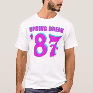 ¡Camiseta de las vacaciones de primavera '87! Camiseta