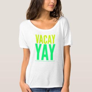Camiseta de las vacaciones. Ropa de la primavera