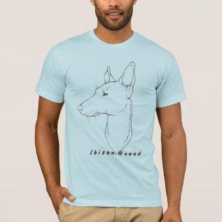 Camiseta de Lineart del perro de Ibizan