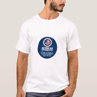 Camiseta de los AFROAMERICANOS de Obama Biden