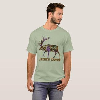 Camiseta de los alces del amante de naturaleza