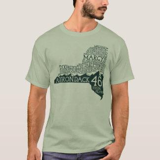 Camiseta de los altos picos de Adirondack