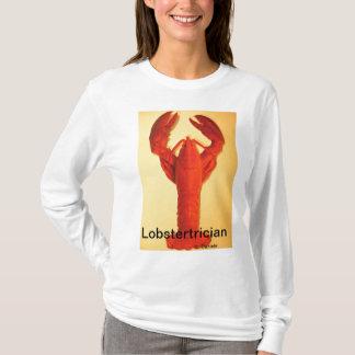 Camiseta de los amantes de la langosta.  Comedores