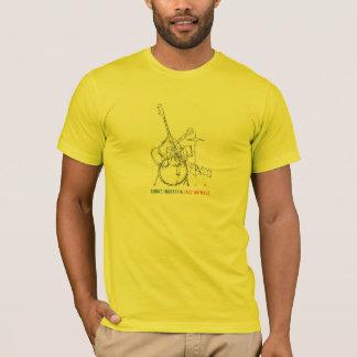 Camiseta de los animales del jazz de los hombres