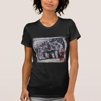Camiseta de los años 20 del rugido de la aleta de