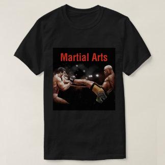 Camiseta de los artes marciales