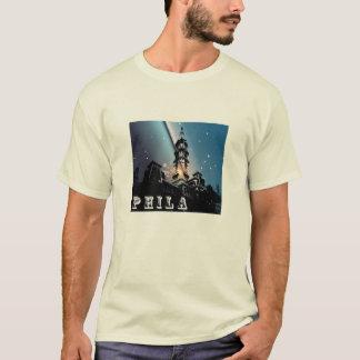 Camiseta de los azules de ayuntamiento de Phila