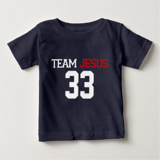 Camiseta de los AZULES MARINOS de JESÚS 33 del