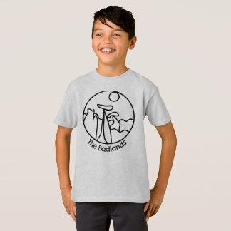 Camiseta de los Badlands de los niños