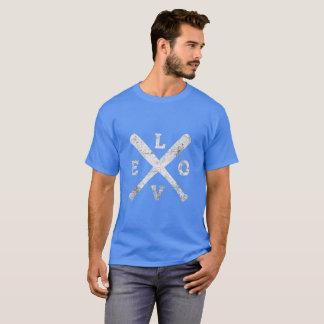 Camiseta de los bates de béisbol del amor - gran