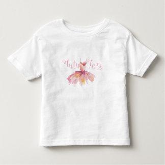 Camiseta de los bebés del tutú del niño