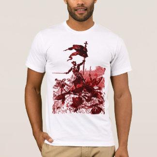 camiseta de los caballeros-templar