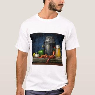 Camiseta de los cangrejos y de la cerveza