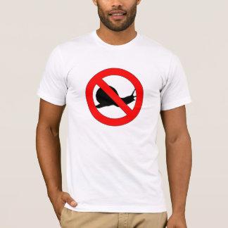 Camiseta de los caracoles de la prohibición