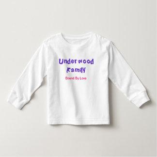 Camiseta de los chicas