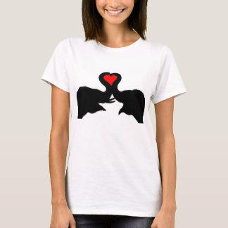 Camiseta de los chicas del amor del elefante