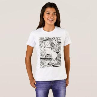 Camiseta de los chicas del unicornio