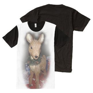 Camiseta de los ciervos de las Felices Navidad