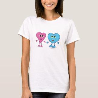 Camiseta de los corazones de Lovin