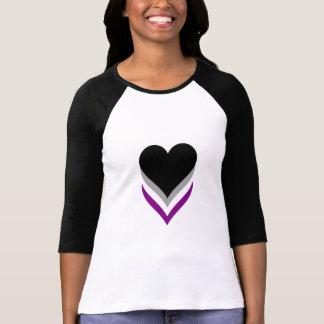 Camiseta de los corazones del orgullo del