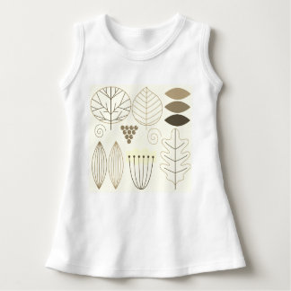 Camiseta de los diseñadores de los bebés: marrón,