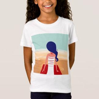 Camiseta de los diseñadores de los chicas con el