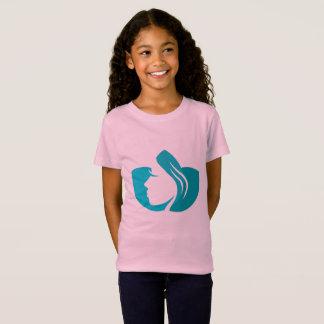 Camiseta de los diseñadores para el chica con arte