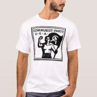 Camiseta de los E.E.U.U. del Partido Comunista