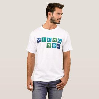 Camiseta de los elementos del empollón de la
