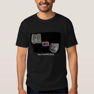Camiseta de los escritos o de los boxeadores de