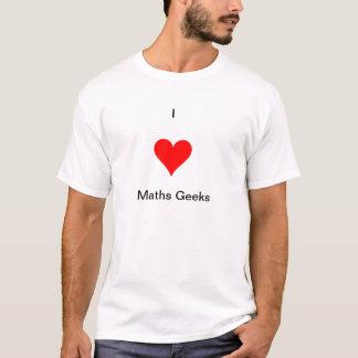 Camiseta de los frikis de la matemáticas