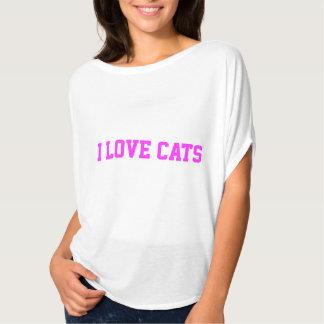 Camiseta de los gatos del corazón I