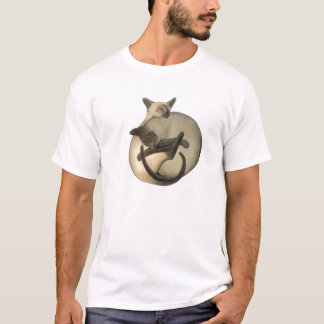 Camiseta de los gatos siameses de Yin Yang