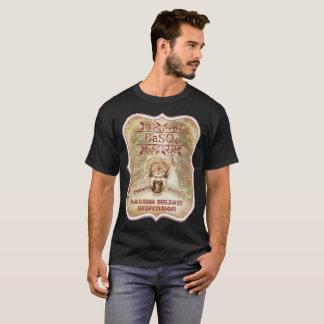 Camiseta de los hombres del bario BaSo4 del cráneo