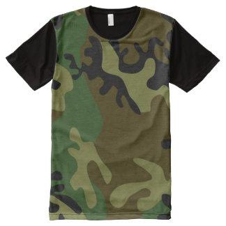 Camiseta de los hombres del camuflaje