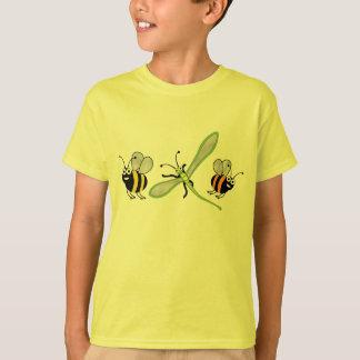 camiseta de los insectos