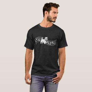 Camiseta de los latidos del corazón del ritmo del